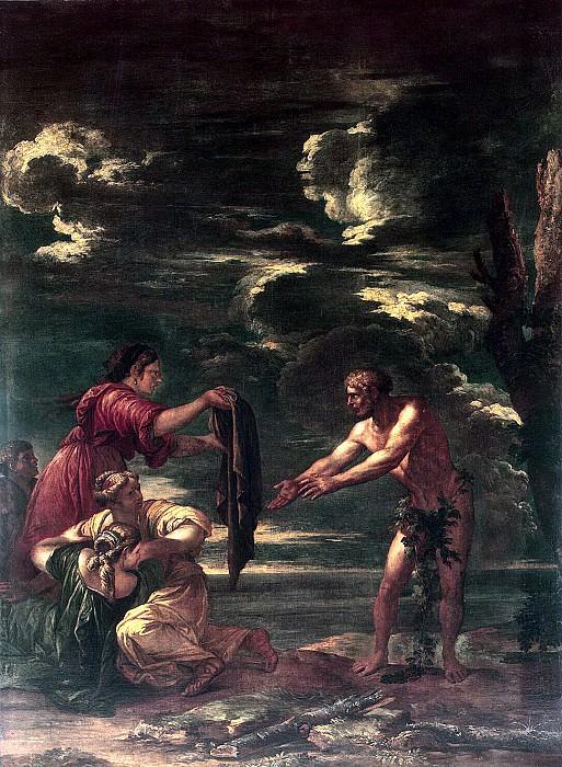 Rosa, Salvator - Odysseus and Nausicaa. Hermitage ~ part 10