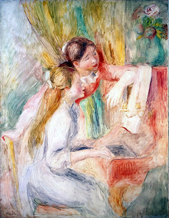 Renoir, Pierre-Auguste - Girls at the piano. Hermitage ~ part 10