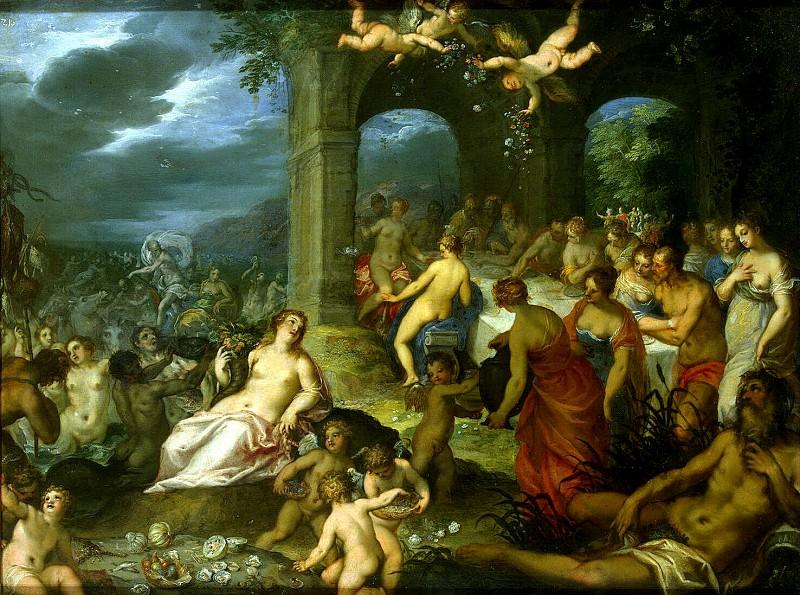 Rottenhammer, Johann - Feast of the Gods. Hermitage ~ part 10