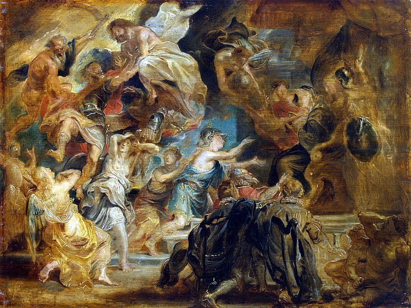The death of Henry IV and the regency ad. Peter Paul Rubens