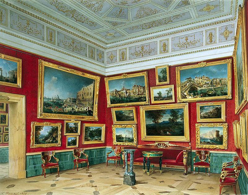 Premazzi, Luigi - Types halls of the New Hermitage. Cabinet of the Italian school. Hermitage ~ part 10
