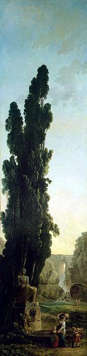 Robert, Hubert - Cypress. Hermitage ~ part 10