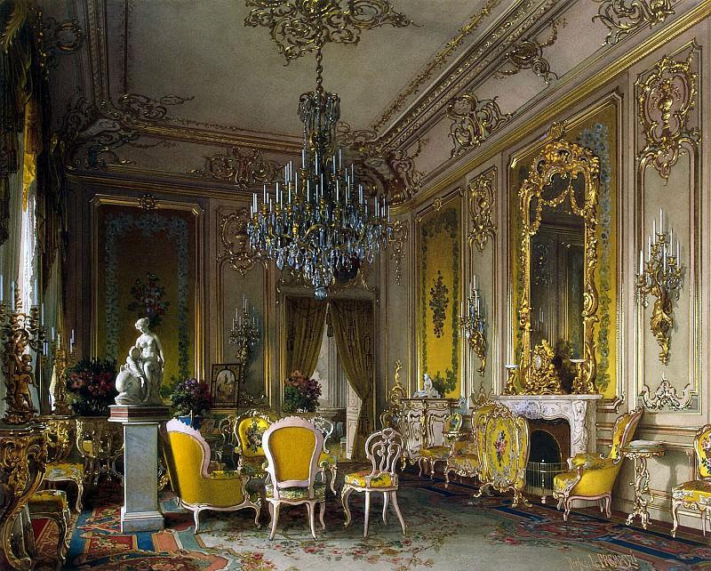 Premazzi, Luigi - Mansion of Baron AL Stieglitz. Lounge. Hermitage ~ part 10