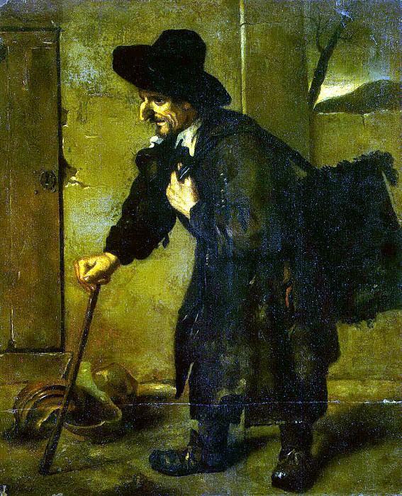 Puga Antonio de - Beggar. Hermitage ~ part 10
