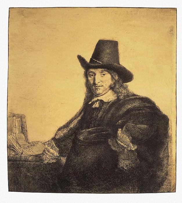Rembrandt, Harmenszoon van Rijn - Portrait of the painter Jan Asseleyna (2). Hermitage ~ part 10