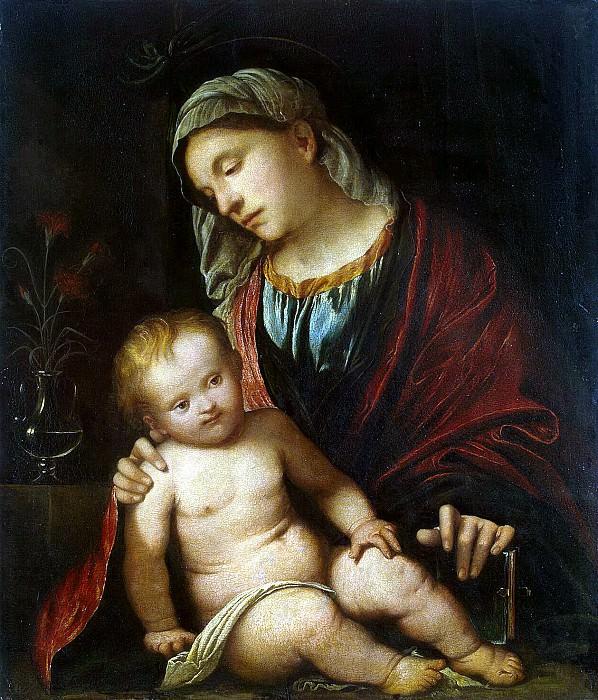 Романино, Джироламо - Мадонна с младенцем. Эрмитаж ~ часть 10