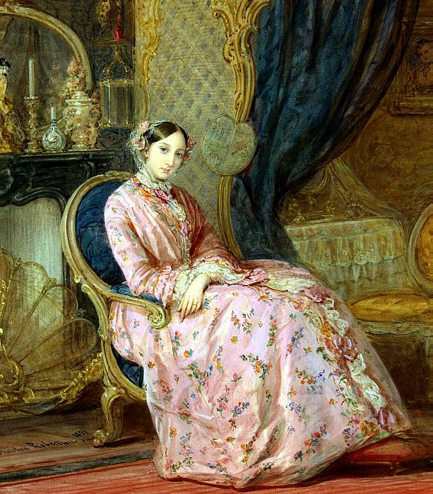 Robertson, Christine - Portrait of Grand Duchess Maria Nikolaevna (2). Hermitage ~ part 10