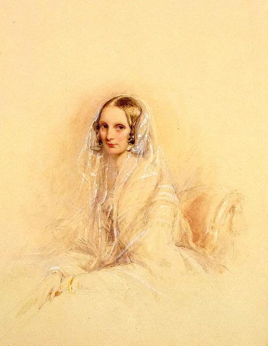Robertson, Christina - Portrait of Empress Alexandra Feodorovna (2). Hermitage ~ part 10