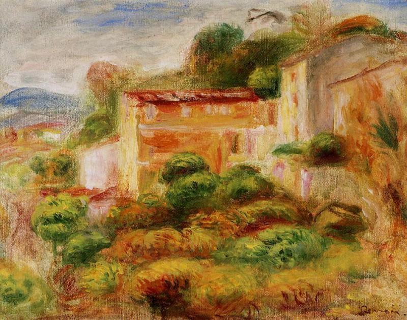 La Maison de la Poste - 1907. Пьер Огюст Ренуар