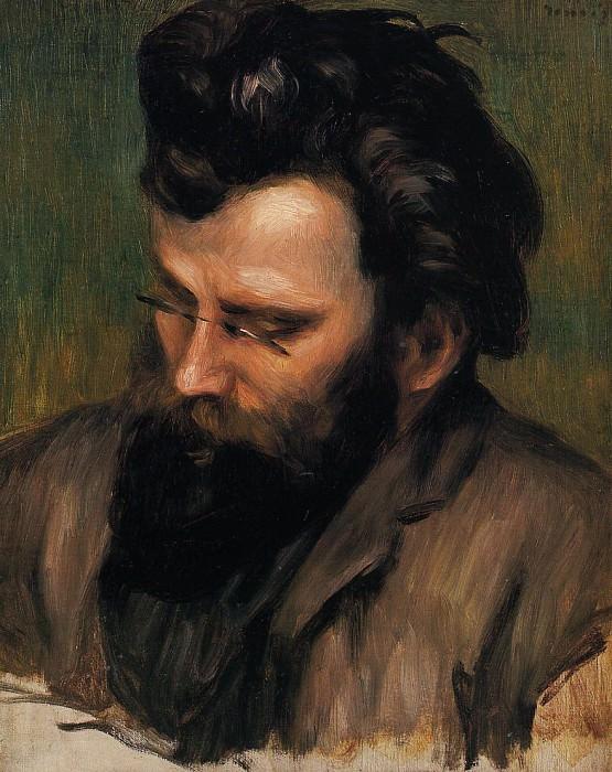 Портрет Шарля Терассе. Пьер Огюст Ренуар