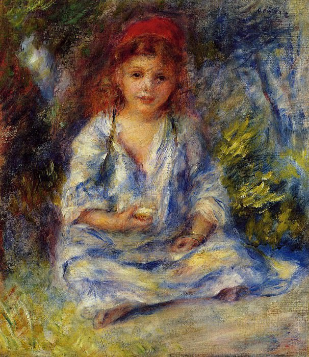 The Little Algerian Girl - 1881. Pierre-Auguste Renoir