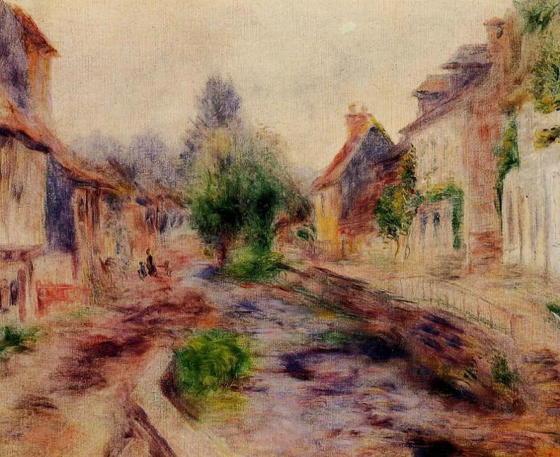The Village. Pierre-Auguste Renoir