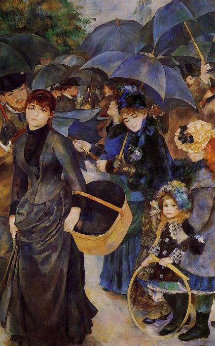 Umbrellas. Pierre-Auguste Renoir