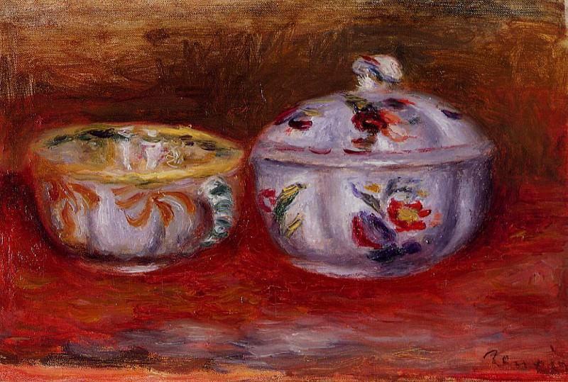 Still Life with Fruit Bowl. Pierre-Auguste Renoir