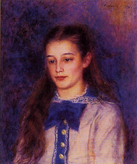 Portrait of Therese Berard - 1879. Pierre-Auguste Renoir
