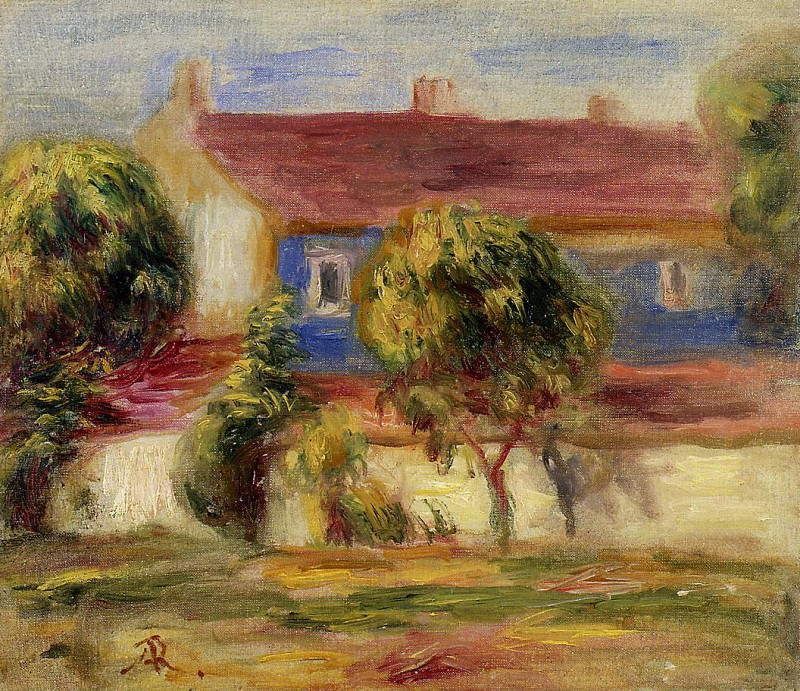The Artists House. Pierre-Auguste Renoir