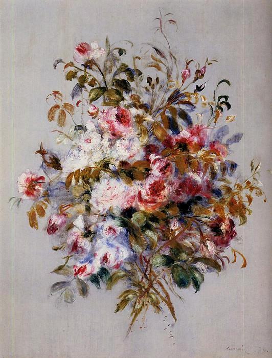 Букет роз 1879. Пьер Огюст Ренуар