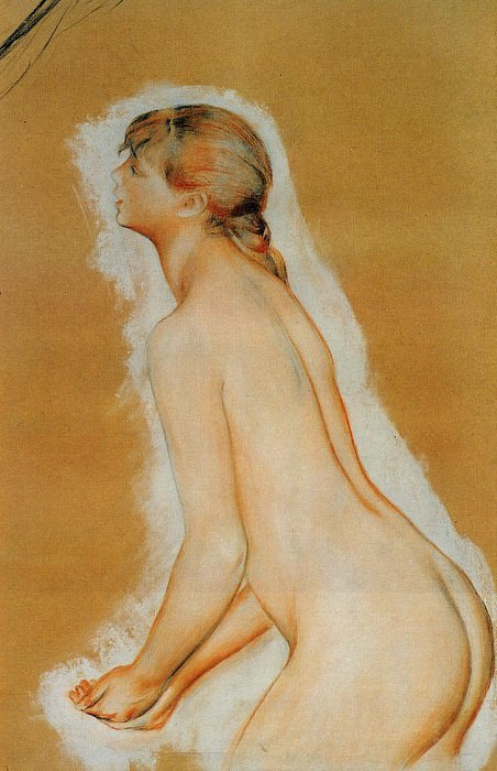 Nude (also known as Study for The Large Bathers). Pierre-Auguste Renoir