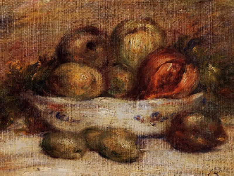 Still Life with Fruit. Pierre-Auguste Renoir