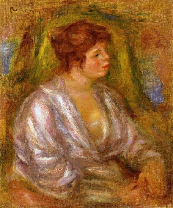 Portrait of a Woman. Pierre-Auguste Renoir