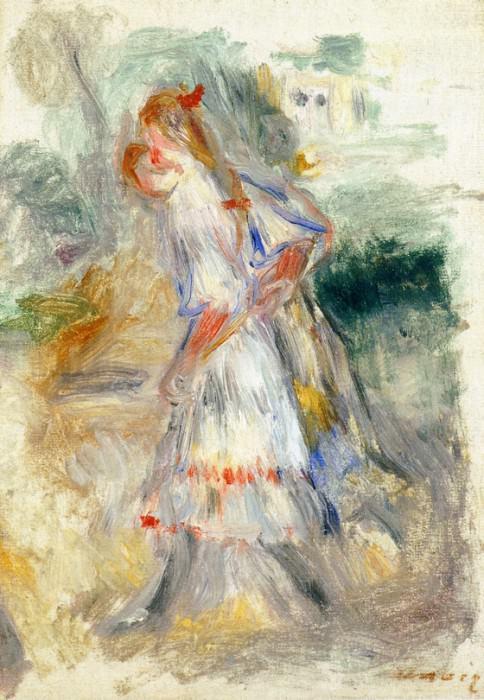 Little Girls - 1905 -1907. Pierre-Auguste Renoir