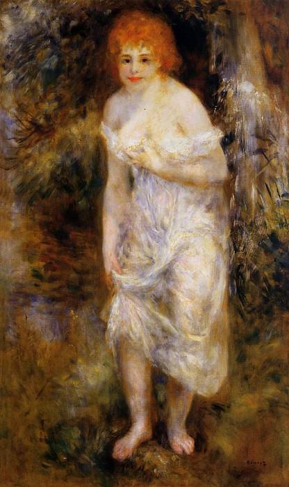 The Spring - 1895. Pierre-Auguste Renoir