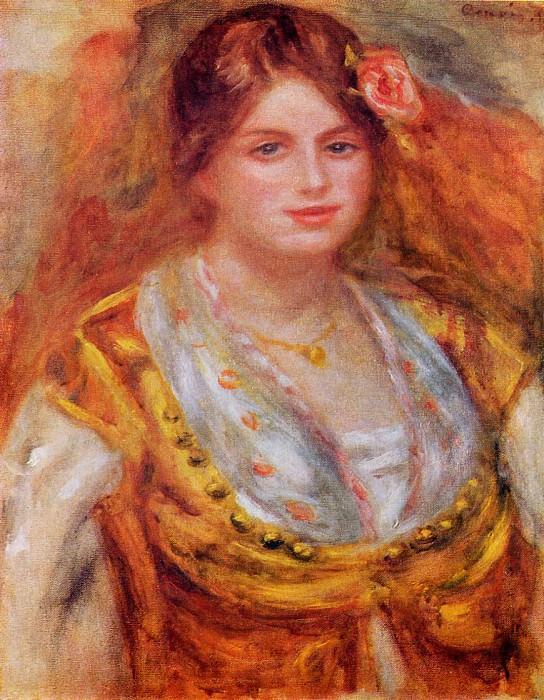 Portrait of Mademoiselle Francois. Pierre-Auguste Renoir