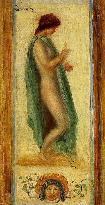 Study of a Woman, for Oedipus - 1895. Pierre-Auguste Renoir