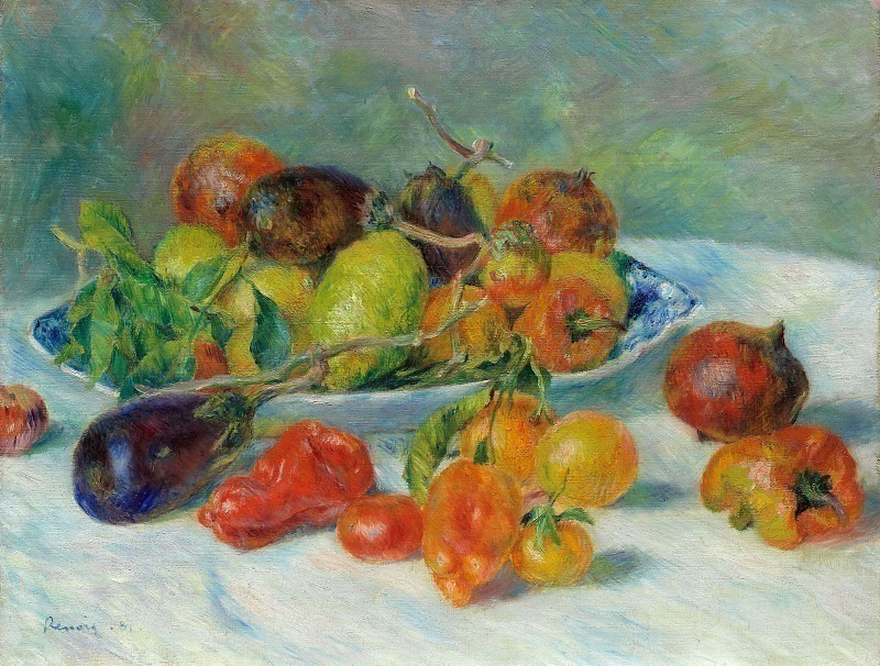Fruits of the Midi - 1881. Pierre-Auguste Renoir