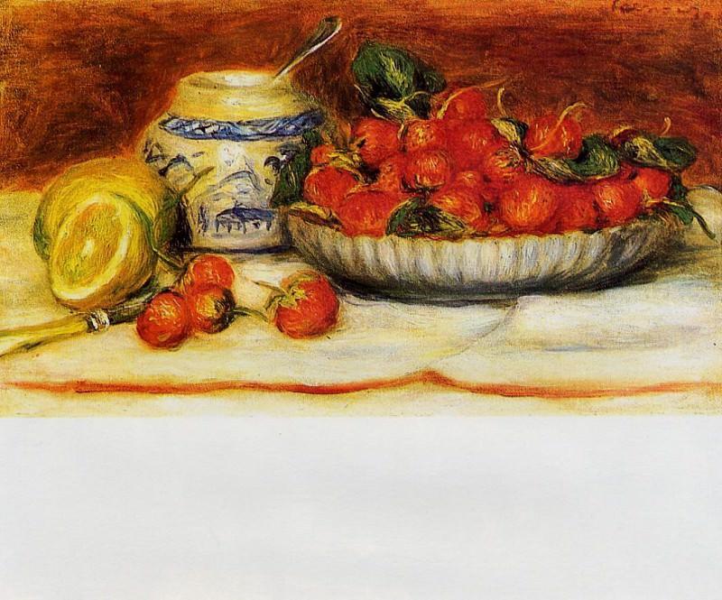 Strawberries - 1905. Pierre-Auguste Renoir