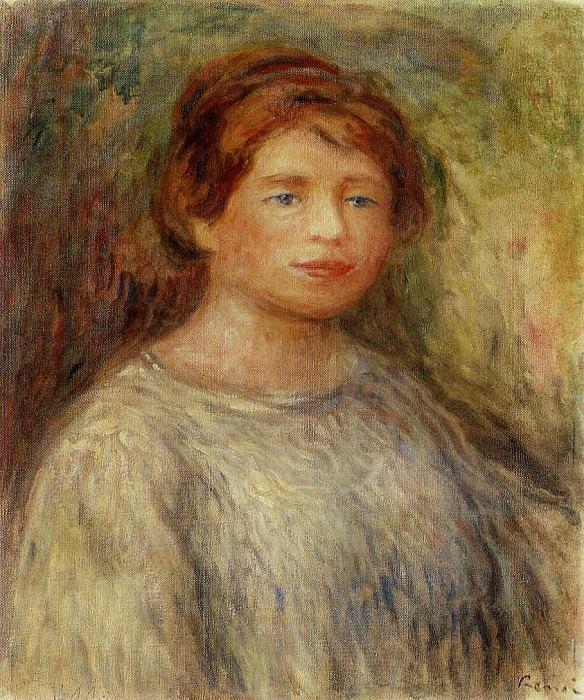 Portrait of a Woman - 1911. Pierre-Auguste Renoir