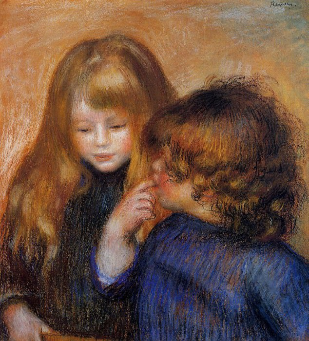 young gypsy girls - 1902. Pierre-Auguste Renoir