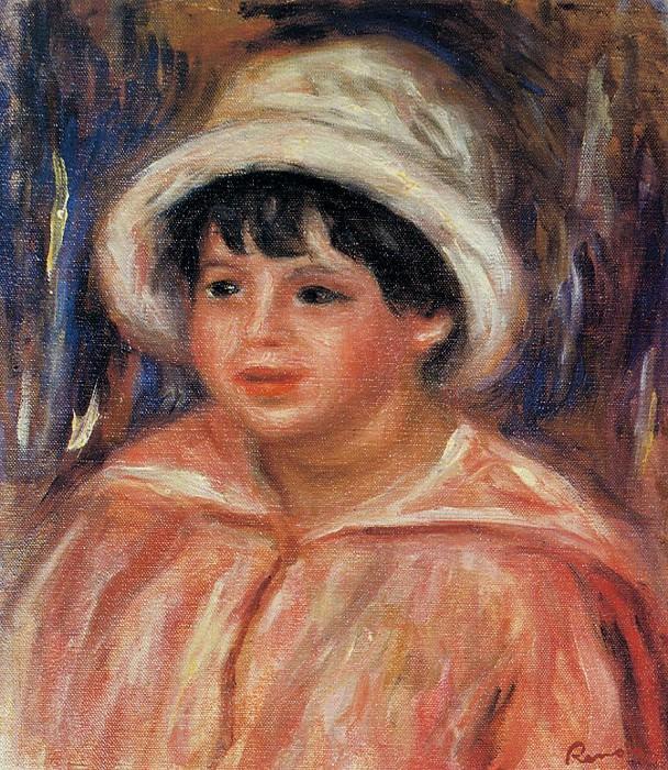 Claude Renoir. Pierre-Auguste Renoir