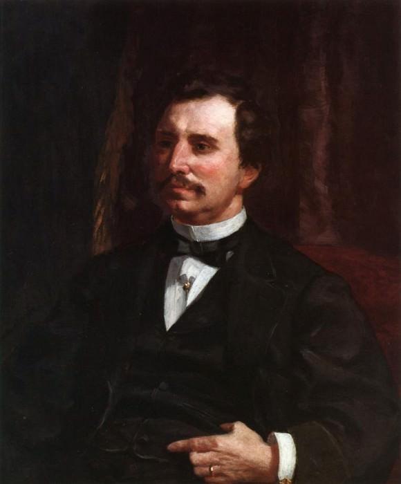 Portrait of Colonel Howard Jenks - 1865. Pierre-Auguste Renoir