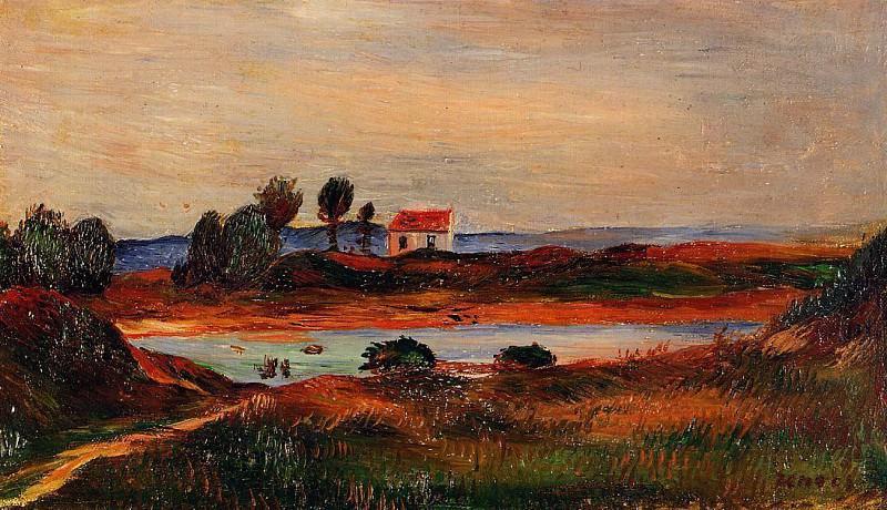 View of Brittany. Pierre-Auguste Renoir