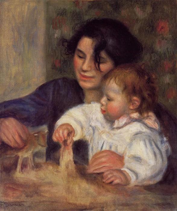 Gabrielle and Jean - 1895. Pierre-Auguste Renoir