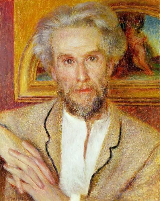 Portrait of Victor Chocquet - 1875. Pierre-Auguste Renoir