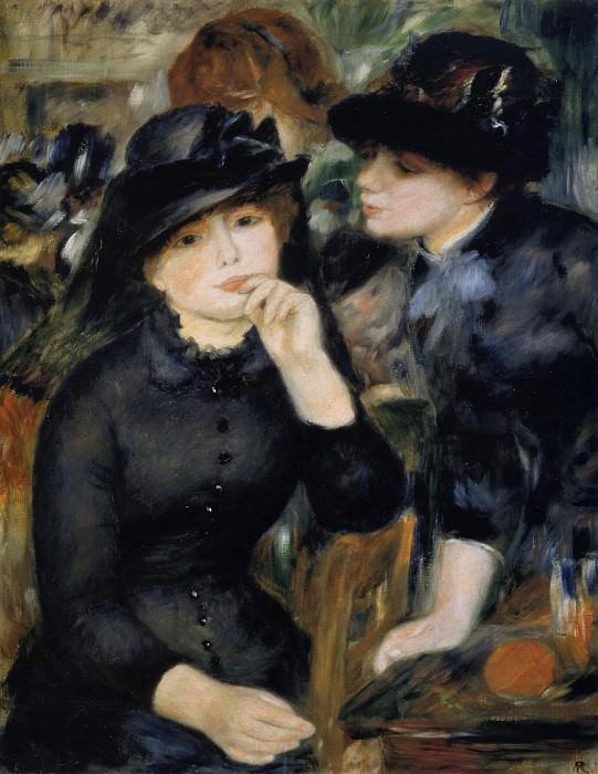 Girls in Black - 1880 -1882. Pierre-Auguste Renoir