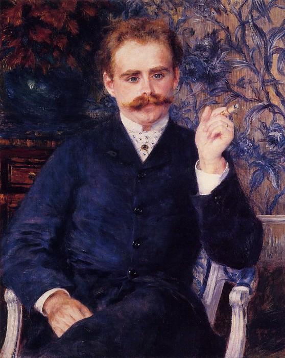 Albert Cahen dAnvers - 1881. Pierre-Auguste Renoir