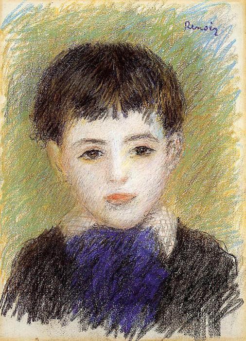Portrait of Pierre - 1889 - 1890. Pierre-Auguste Renoir