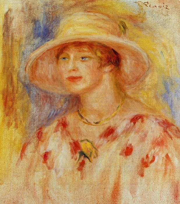 Lydia Sieligmann - 1917. Пьер Огюст Ренуар