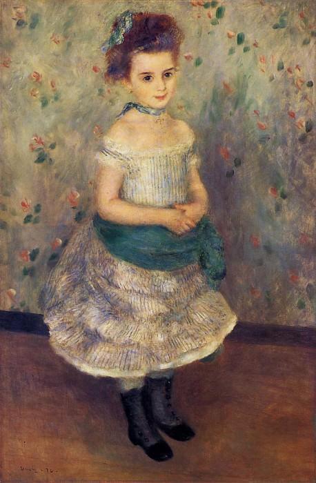 Jeanne Durand-Ruel - 1876. Pierre-Auguste Renoir