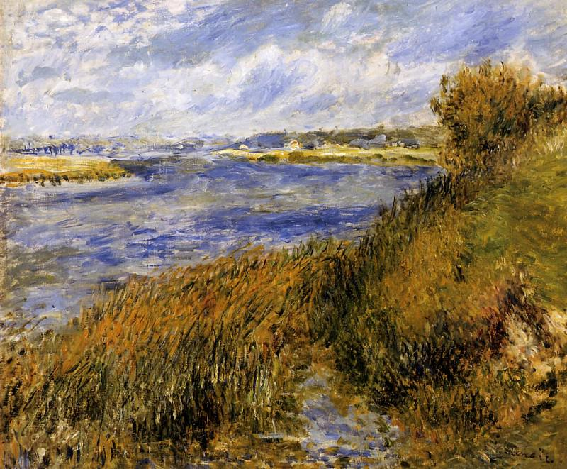The Banks of the Seine at Champrosay - 1876. Pierre-Auguste Renoir
