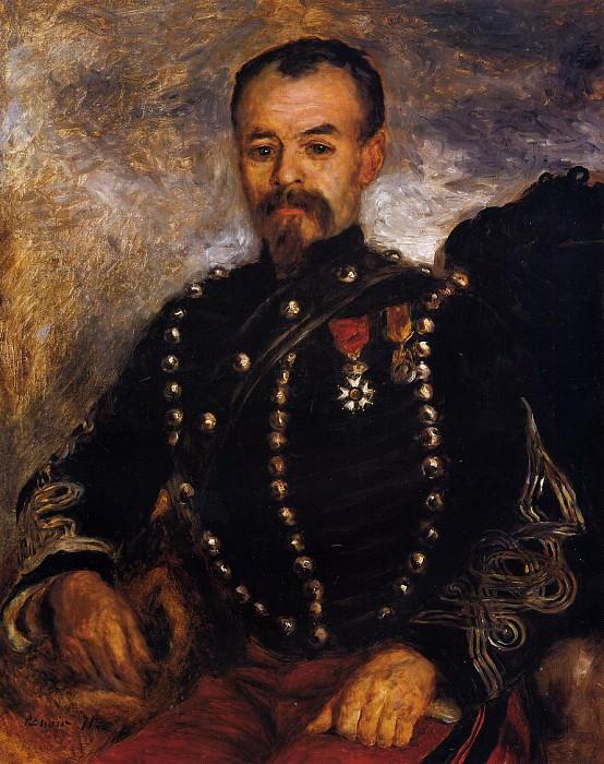 Captain Edouard Bernier - 1871. Pierre-Auguste Renoir