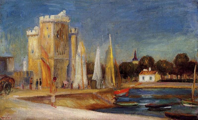 The Port of Rochelle - 1896. Pierre-Auguste Renoir