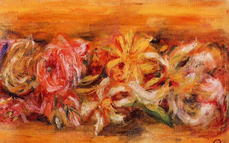 Garland of Flowers. Pierre-Auguste Renoir