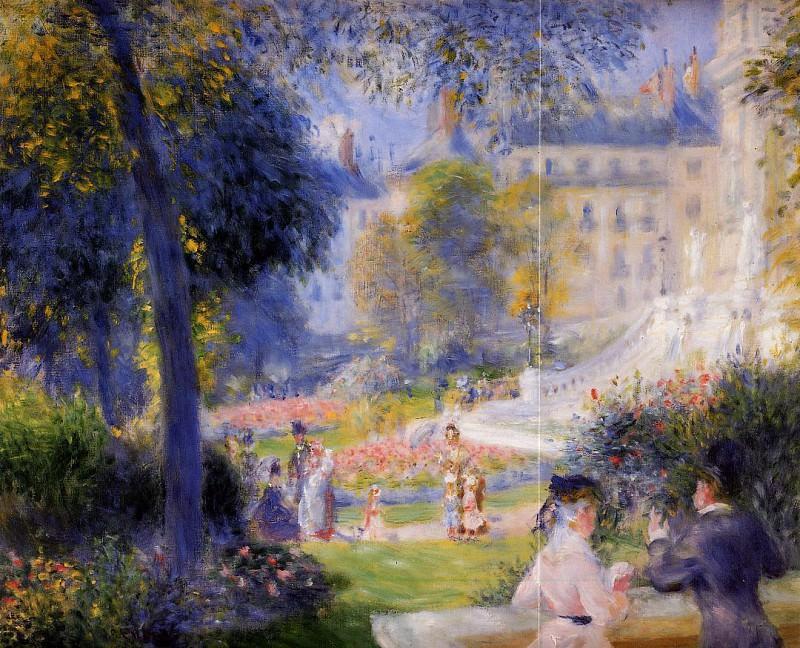 Place de la Trinite - 1875. Pierre-Auguste Renoir