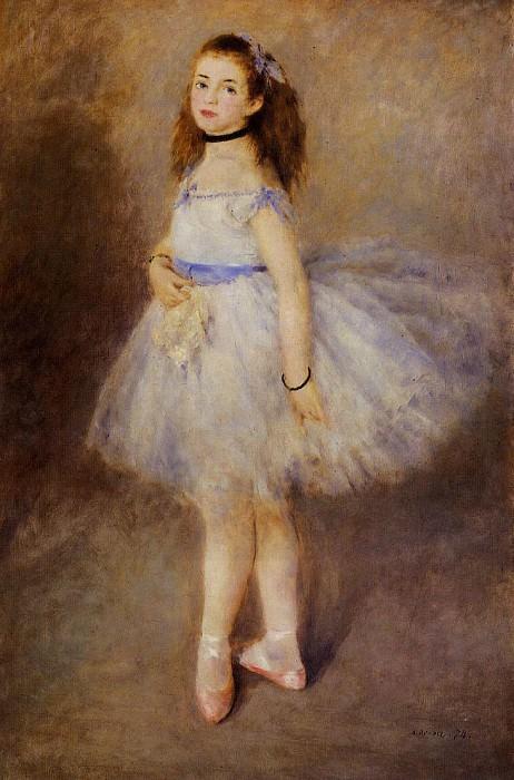 Dancer - 1874. Pierre-Auguste Renoir