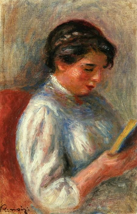 The Reader - 1906. Pierre-Auguste Renoir