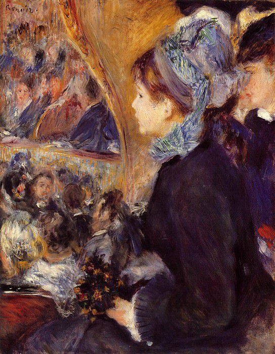 The First Outing - 1875 - 1876. Pierre-Auguste Renoir